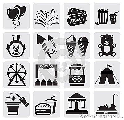 De pictogrammen van Carnaval