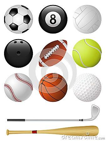 De pictogrammen van sporten