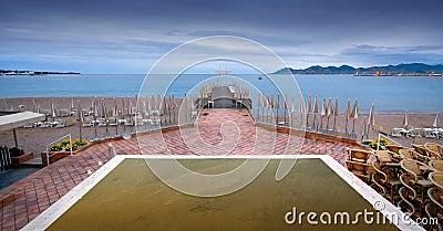 De Pijler van het strand