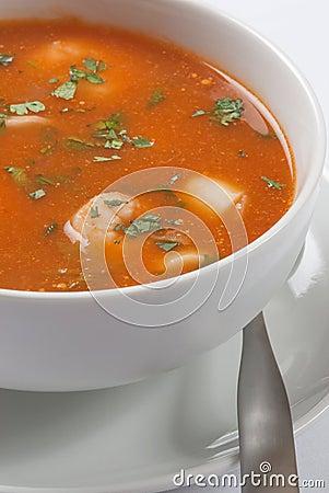 De Plaat van de soep