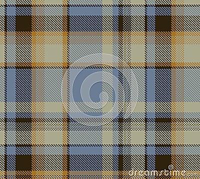 De plaid van het geruite Schotse wollen stof