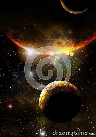 De planeten van Extrasolar