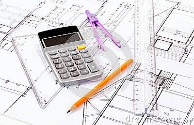 De plannen van de architect