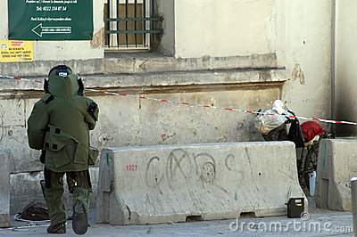 De Ploeg van de bom Redactionele Foto