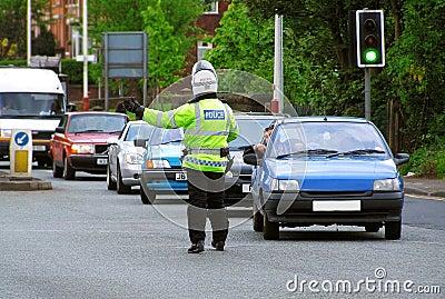 De Politie van het verkeer