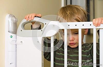 De poort van de baby