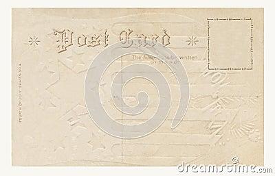 De prentbriefkaar van 1908