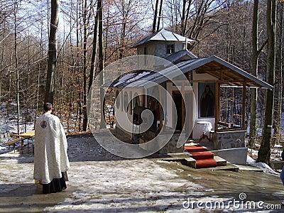 Het bidden Redactionele Stock Foto