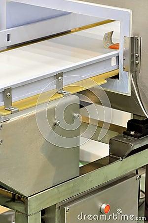De productie van materiaal voor pakket