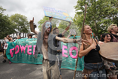 De Protesten van Balcombefracking Redactionele Foto