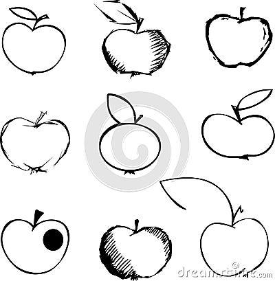 De reeks van de appel