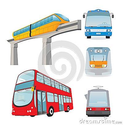 De reeks van het vervoer
