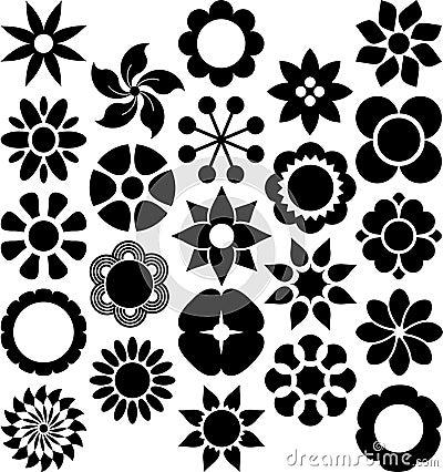 De reeks van ized Bloemen