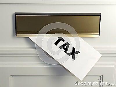 De Rekening van de belasting