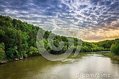 De Rivier van Cumberland