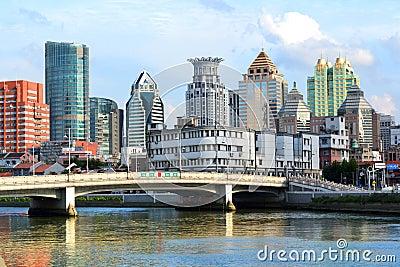 De Rivier van Shanghai Suzhou Redactionele Foto