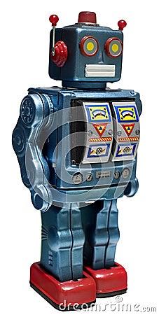 De robot van het stuk speelgoed