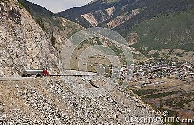 De rotsachtige stad van de Berg