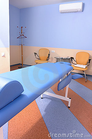 De ruimte van de massage