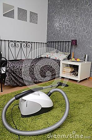 De ruimte van de tiener na het schoonmaken stock fotografie afbeelding 23588452 - Tiener meubilair ruimte meisje ...