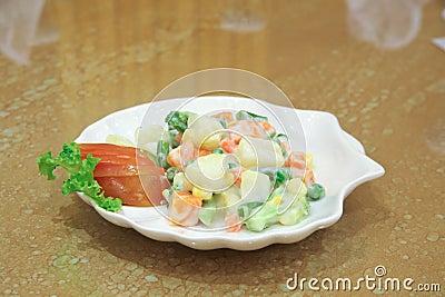De salade van Nicoise