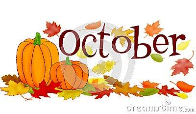 De scène van oktober