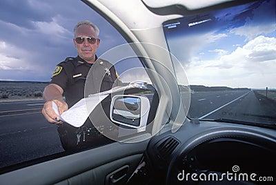 De sheriff van de provincie Redactionele Stock Afbeelding