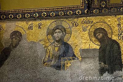 Deësis mosaics Hagia Sophia