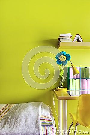 De slaapkamer van de tiener royalty vrije stock fotografie afbeelding 18132807 - Beeld van tiener meisje slaapkamer ...