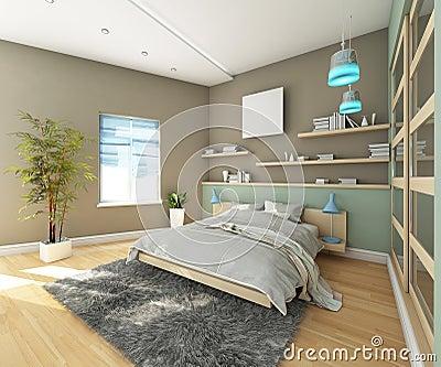 De slaapkamer van de tiener met tapijt stock afbeelding afbeelding 28960361 - Foto van tiener slaapkamer ...