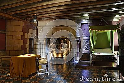 De Slaapkamer Van Het Kasteel Stock Foto - Beeld: 11319130