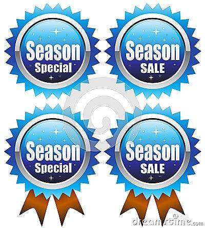 De speciale verkoop van de wintertijd