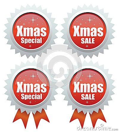 De speciale verkoop van Kerstmis