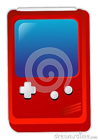 De spelen van de console