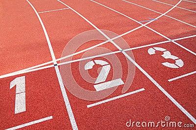 De sport van de concurrentie