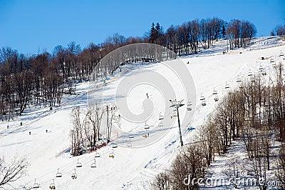 De wintersport