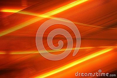 De staartlichten van de auto