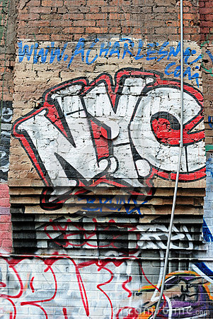 De Stad Graffiti van New York