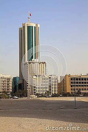 De stad in, Manama, Bahrein
