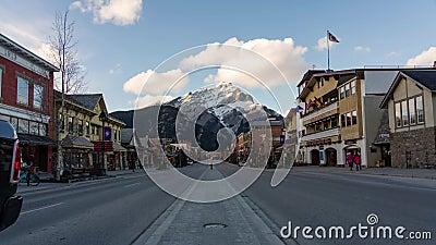 De Stad van Banff stock video
