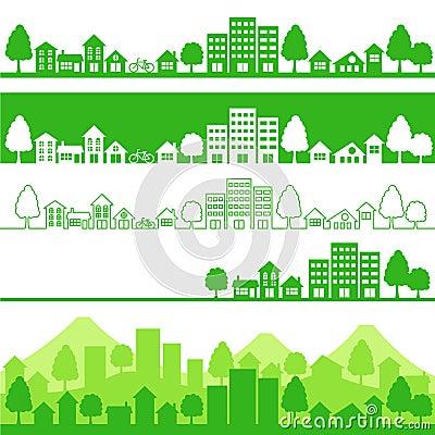 De stad van Eco