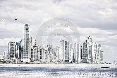 De stad van Panama