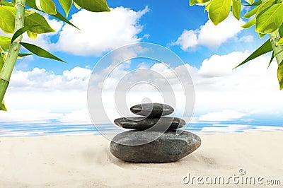 De steen van het kuuroord