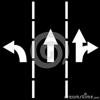 De stegen van het verkeer