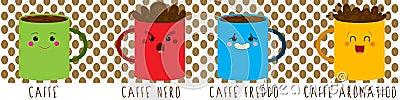 De stemming van de koffie