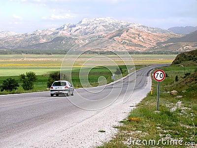 De stemmingspunt van de vakantie - Anatolië