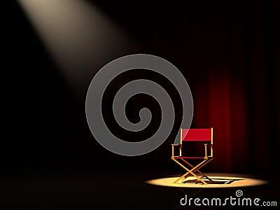 De stoel van de directeur