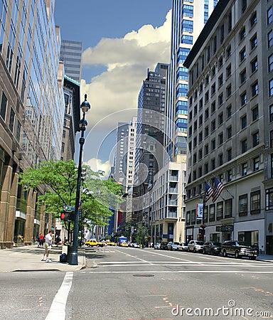De Straat van de Stad van New York