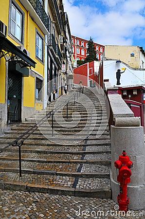 De straat van Lissabon