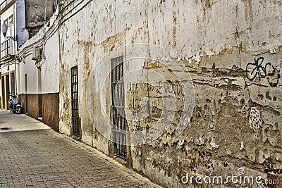 De straat van Merida